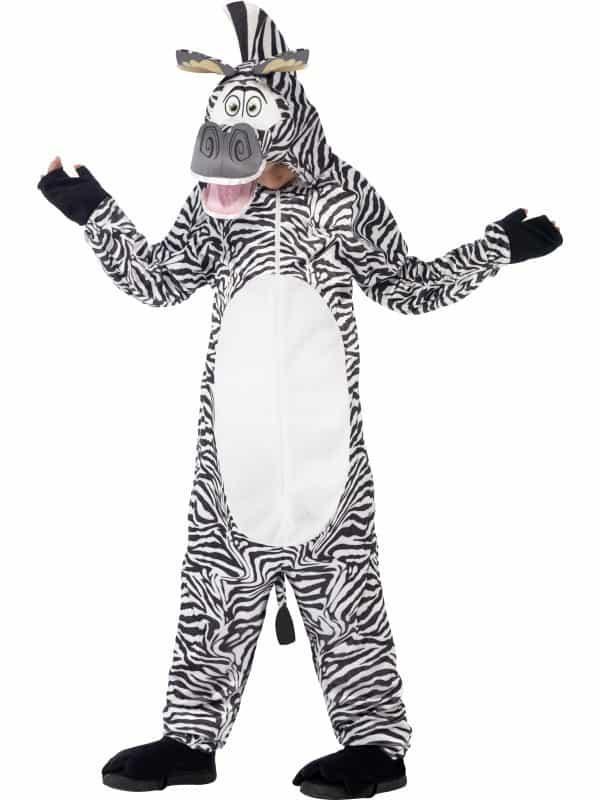 Madagascar Marty The Zebra Costume