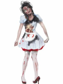 Horror Zombie Countrygirl Costume