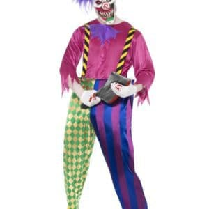 Kolorful Killer Klown Costume