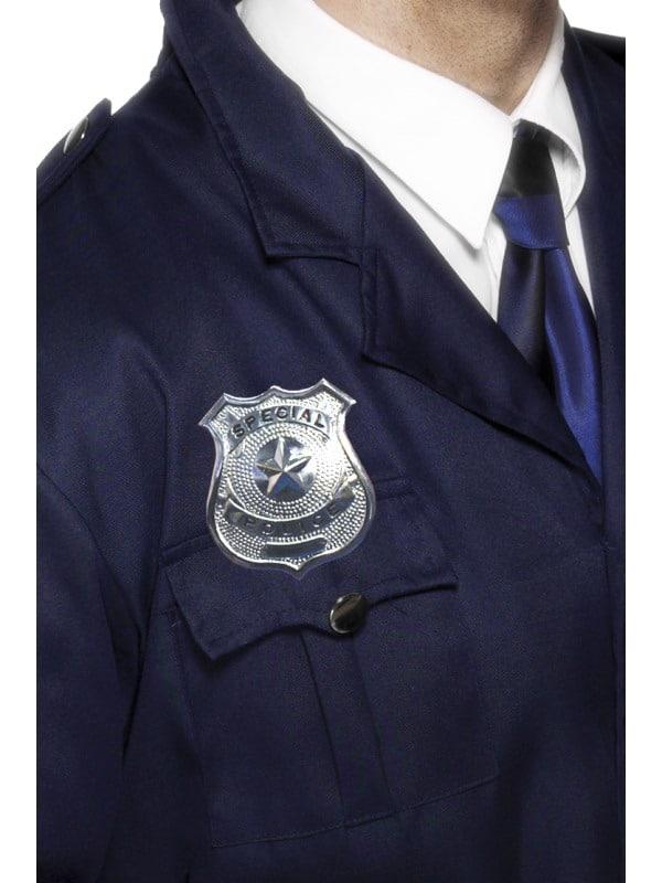 Metal Police Badge