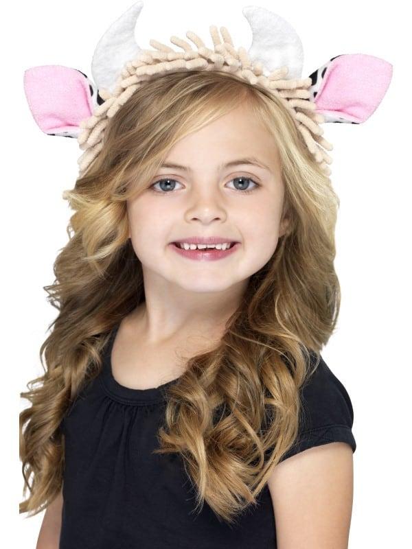 Cow Ears on a Headband