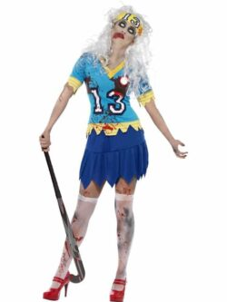 High School Horror Zombie Hockey Player Costume