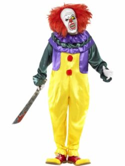 Classic Horror Clown Costume