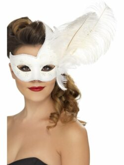 Ornate Columbina Eyemask