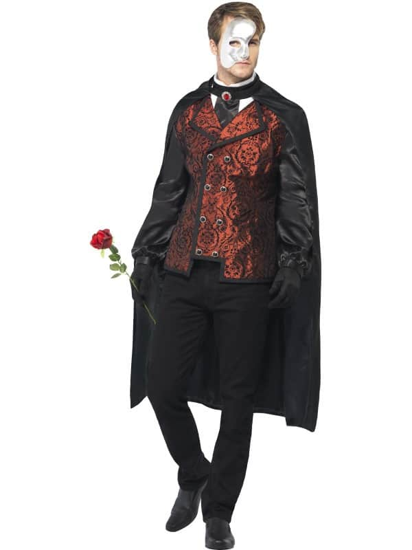 Dark Opera Masquerade Costume