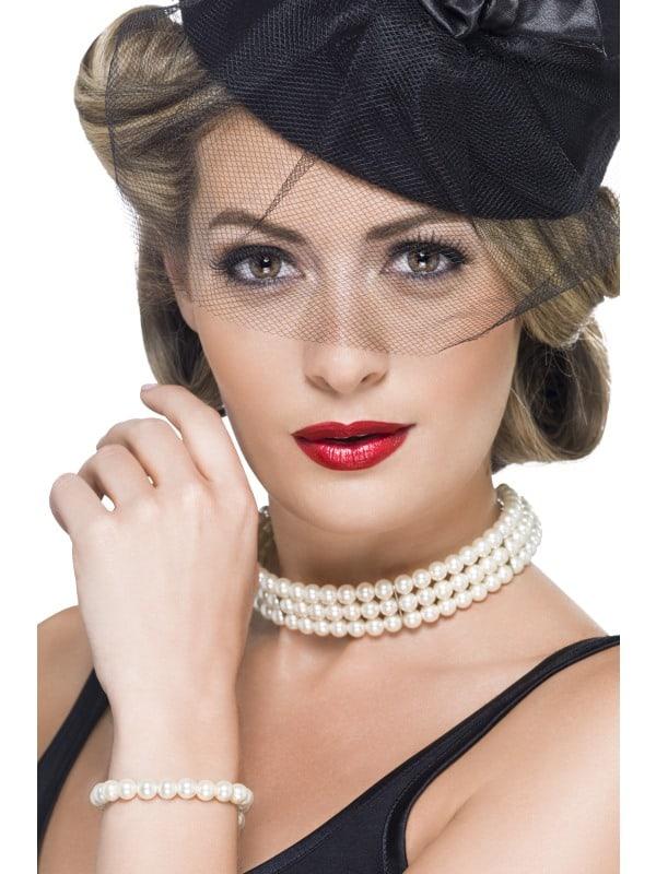 Vintage Faux Pearl Set
