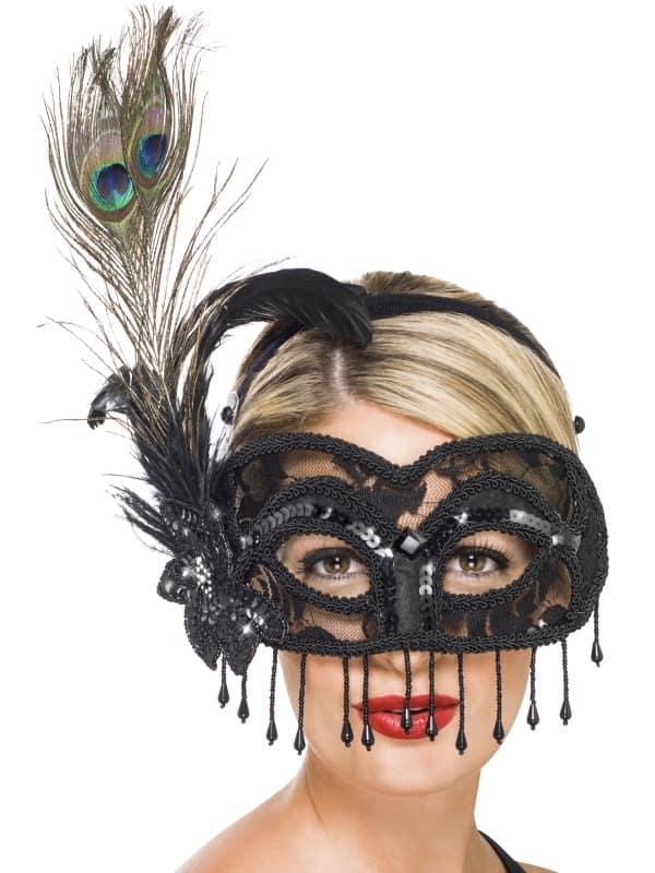 Colombina Lace Eye Mask
