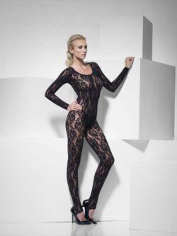 Body Stocking Black Lace
