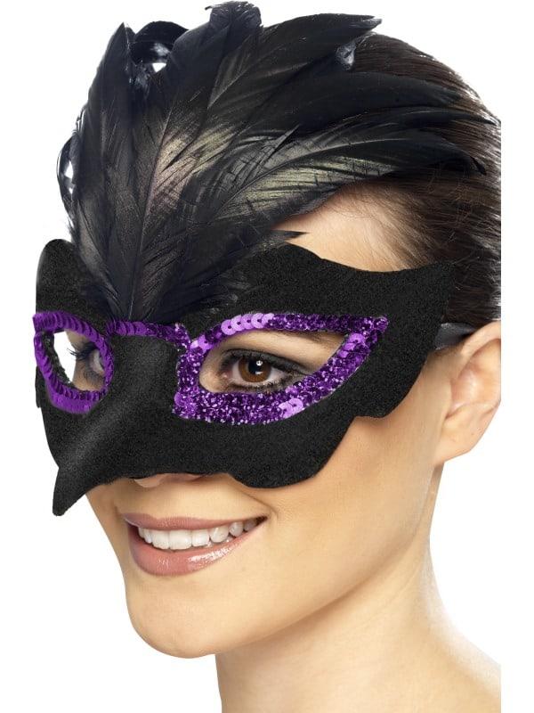 Gothic Raven Masquerade Eyemask