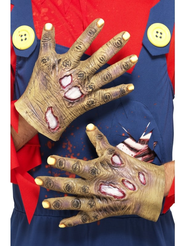 Decaying Zombie Gloves