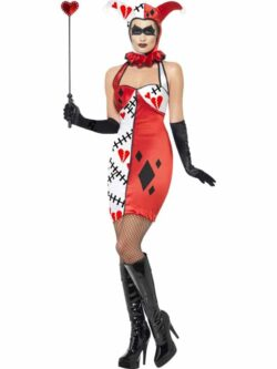 Cirque Sinister Jester of Broken Hearts Costume
