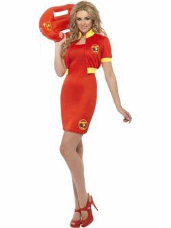 Baywatch Beach Lifeguard Costume