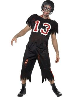 High School Horror American Footballer Costume