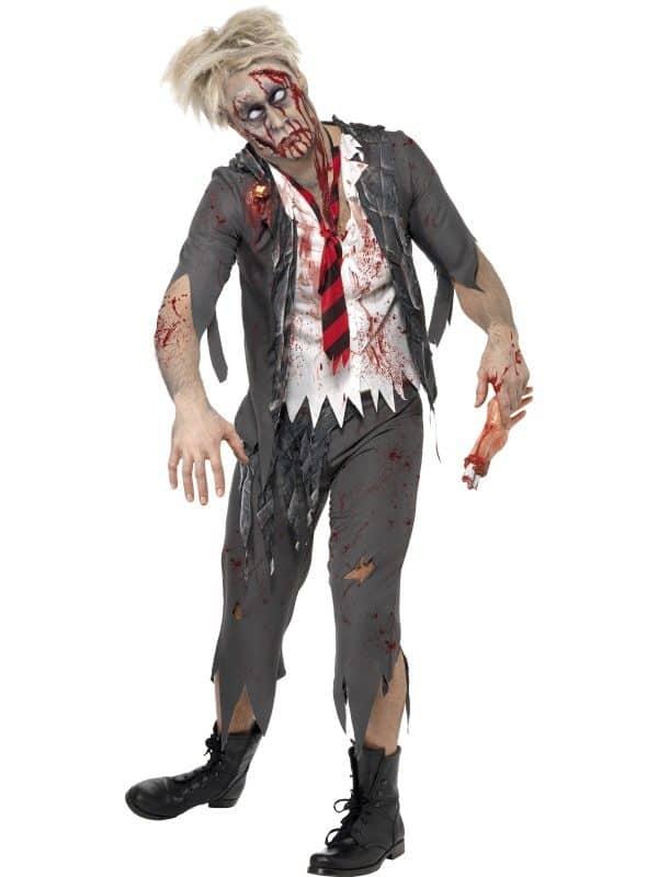 High School Horror Zombie Schoolboy Costume