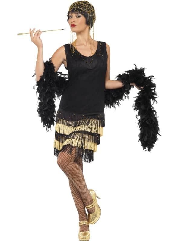 1920's Fringed Flapper Costume