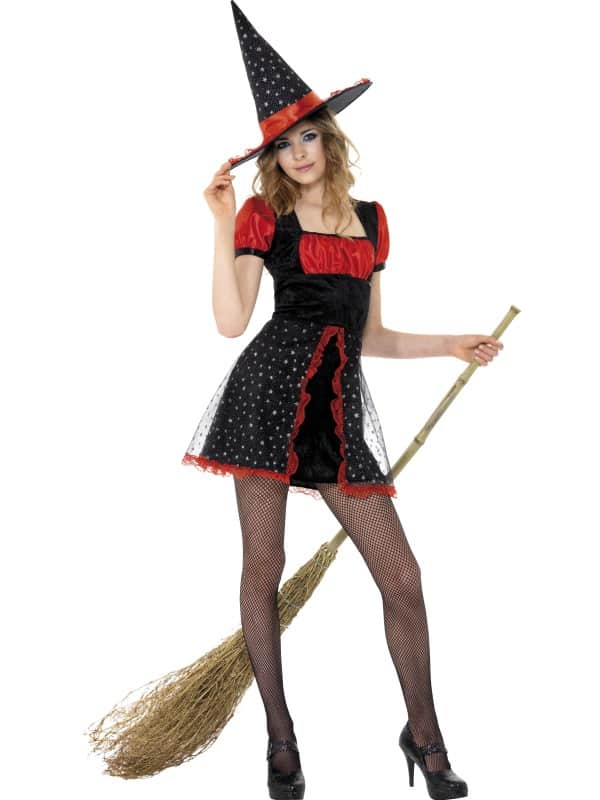 Teen Star Witch Costume