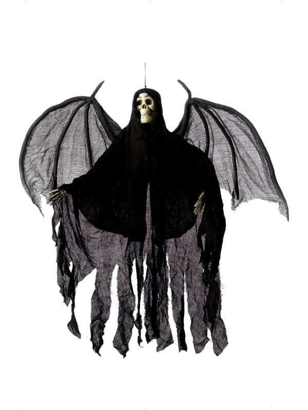 Hanging Skeleton Angel Decoration