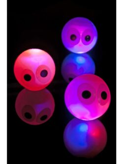 Mini Eye Flashing and Bouncing Balls