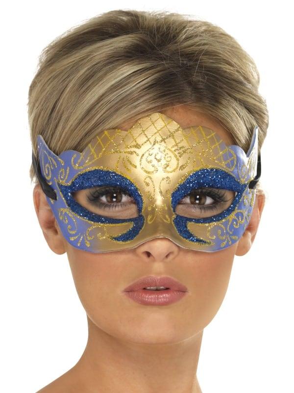 Venetian Colombina Farfalla Glitter Mask