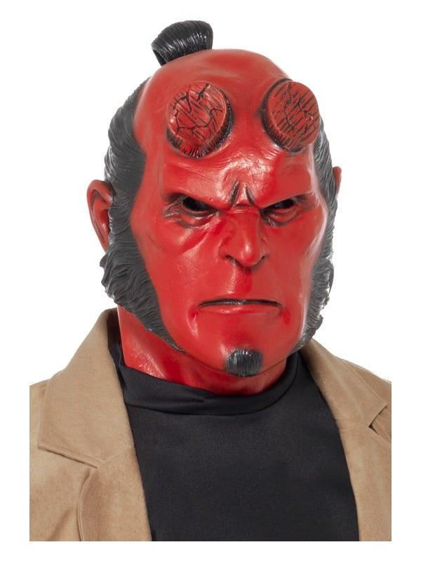 Hellboy Latex Mask