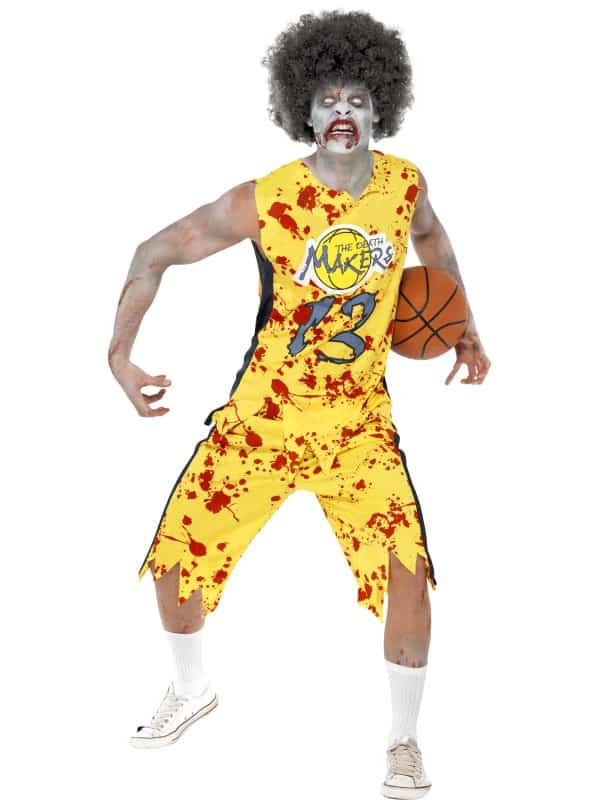 High School Horror Zombie Basketball Player
