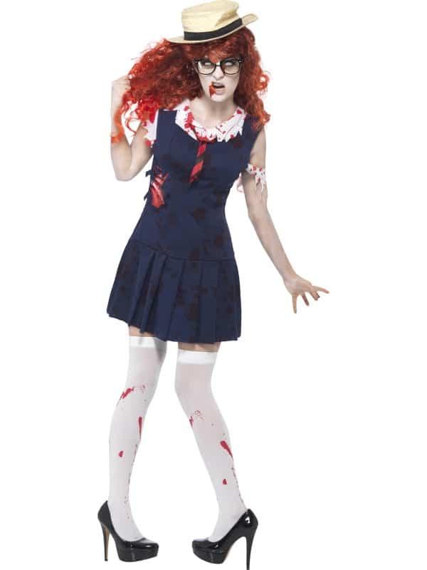 High School Horror Zombie College Student