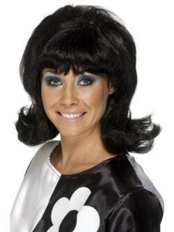 60's Flick-Up Wig