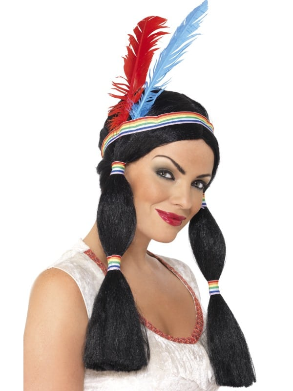 Native American Inspired Princess Wig