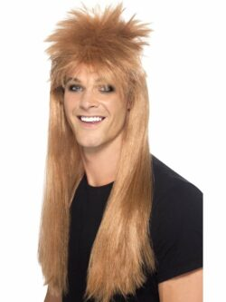 80's Rocker Mullet Wig