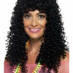80's Wet Look Pop Star Wig