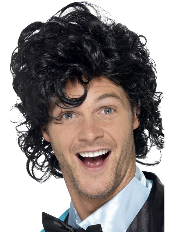 80's Prom King Perm Wig