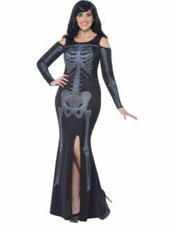 Curves Skeleton Costume