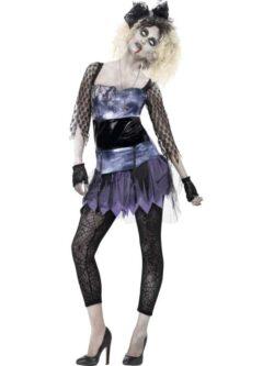 Zombie 80's Wild Child Costume