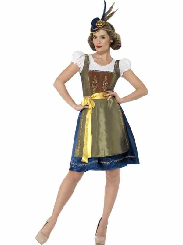Traditional Deluxe Heidi Bavarian Costume