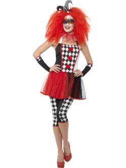 Twisted Harlequin Costume