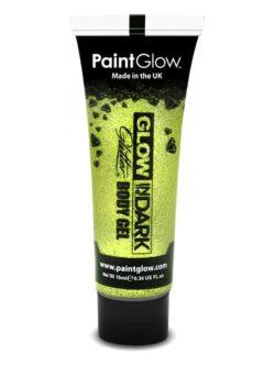 Glow in the Dark Glitter Body Gel