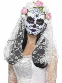 Day of the Dead Bride Mask