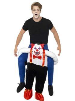 Sinister Clown Piggy Back Costume