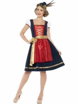 Traditional Deluxe Claudia Bavarian Costume