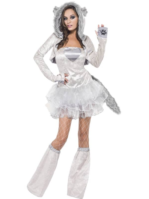 Wolf Tutu Dress and Detachable Clear Straps