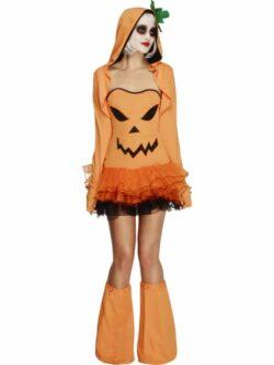 Fever Pumpkin Costume Tutu Dress
