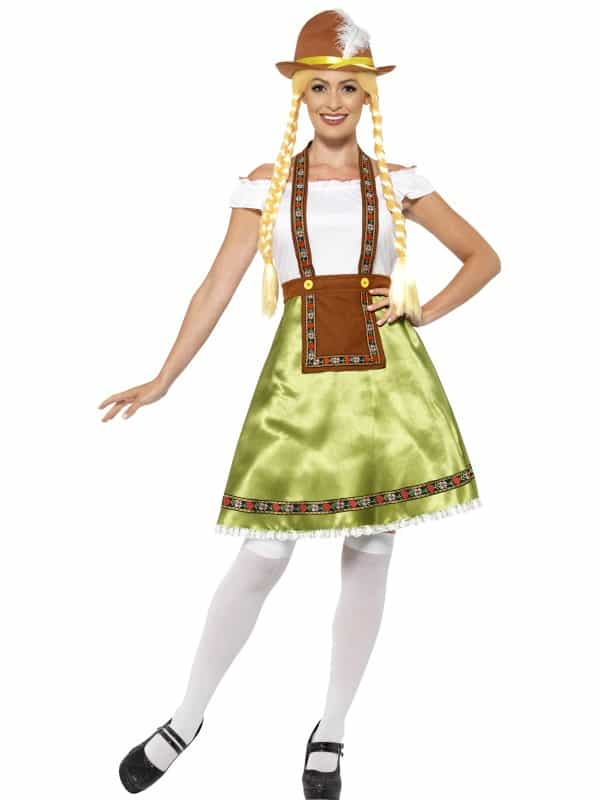 Bavarian Maid Costume