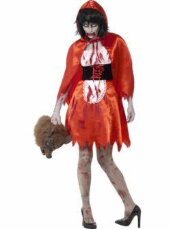 Zombie Little Miss Hood Costume