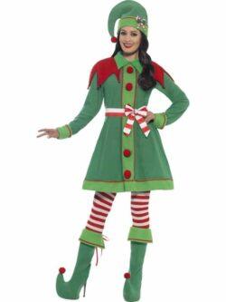Deluxe Miss Elf Costume