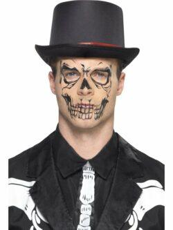 Skull Face Tattoo Transfer