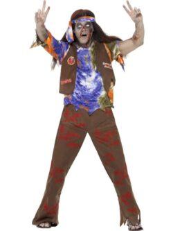 Zombie 60's Hippie Costume