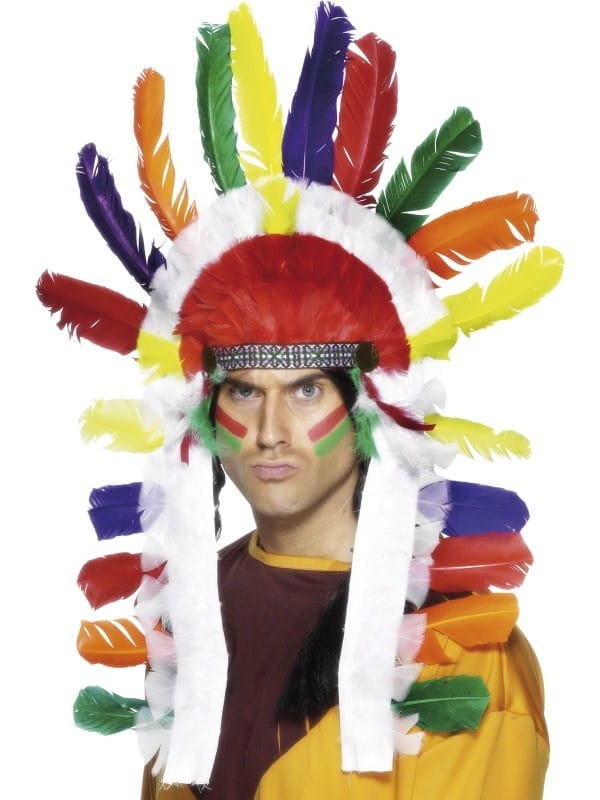 Native American Inspired Long Chief Headdress